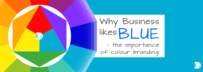 Why business likes blue - the importance of colour branding