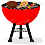 Red BBQ Barbeque