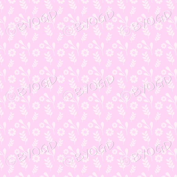 Pink flower background wallpaper