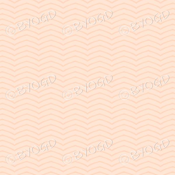 Orange wavy line pattern background wallpaper