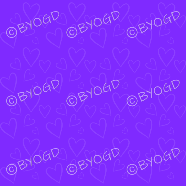 Dark Purple heart background wallpaper