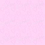 Pink heart background wallpaper