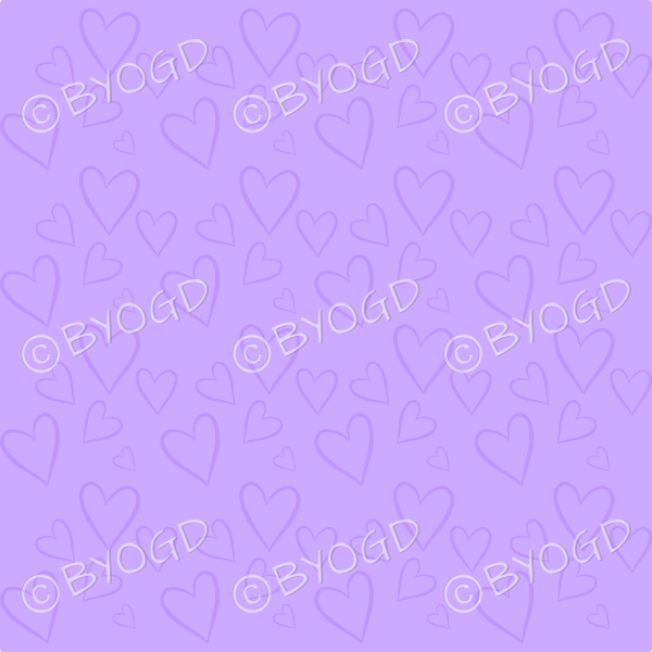 Purple heart background wallpaper