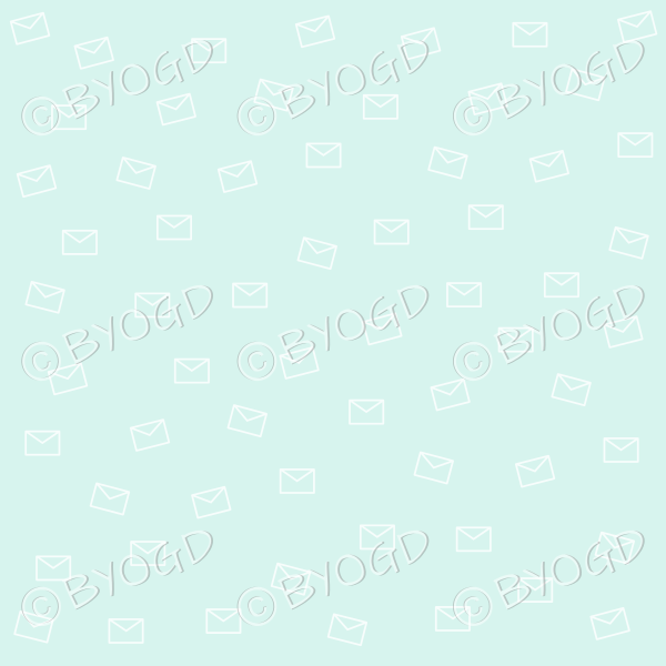 Light green email pattern background wallpaper