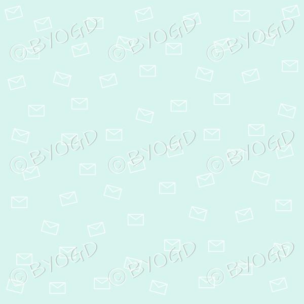 Light green email pattern background wallpaper