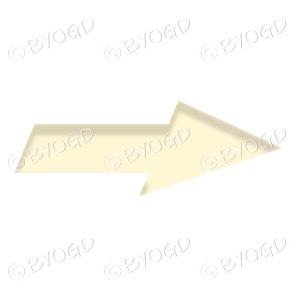 Yellow direction arrow