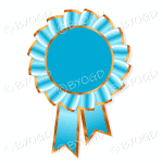 Light blue Rosette