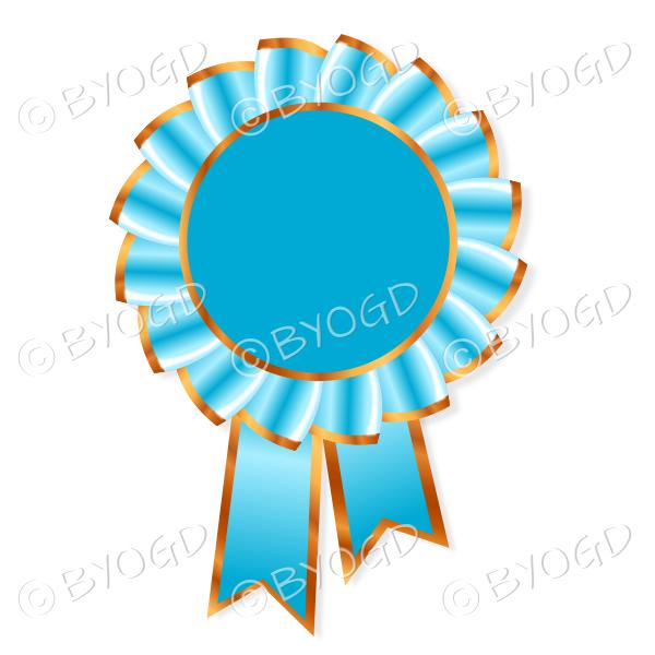 Light blue Rosette