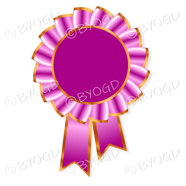 Dark Pink Rosette