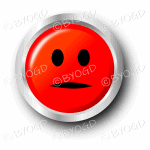 A red flat face smiley button.