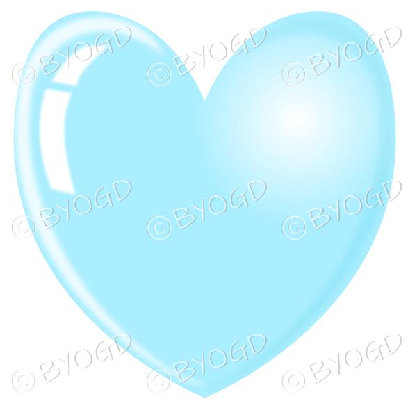 Light blue heart