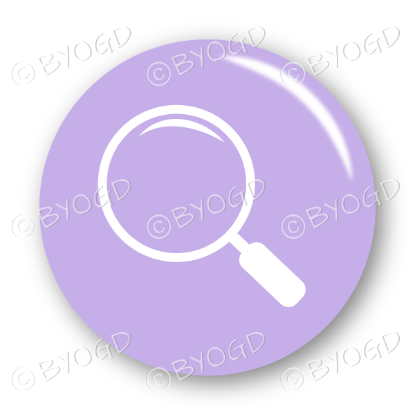 Search button – round in purple