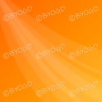 Orange swoosh background