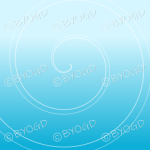 Light blue graduated swirl background