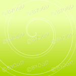 Green graduated swirl background