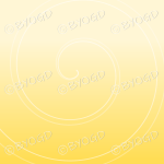 Yellow graduated swirl background