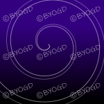 Dark purple graduated swirl background