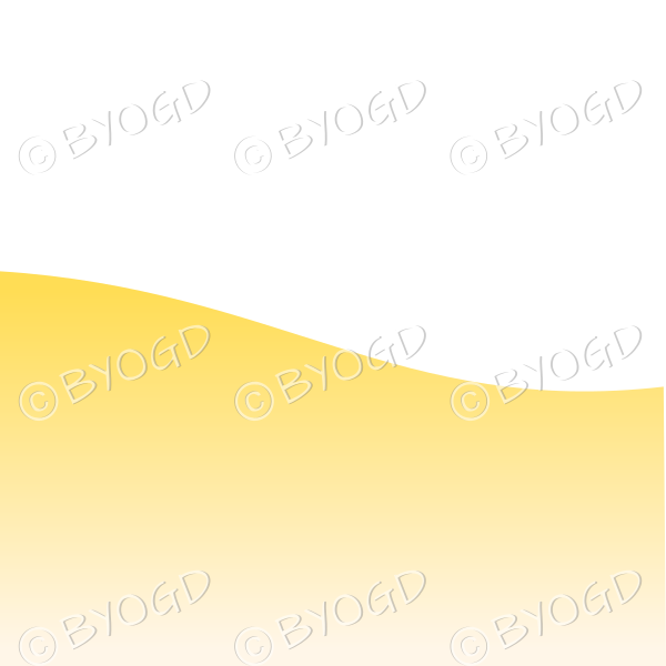 White background with yellow sand / beach landscape