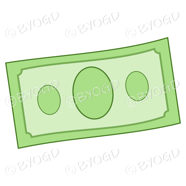 Money bank note