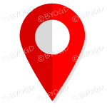 Red We Are Here icon so customers can find you.