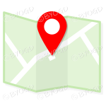 Green street map to show directions to your clients.
