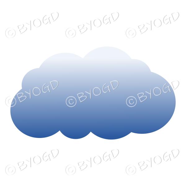 Dark storm cloud – style 1