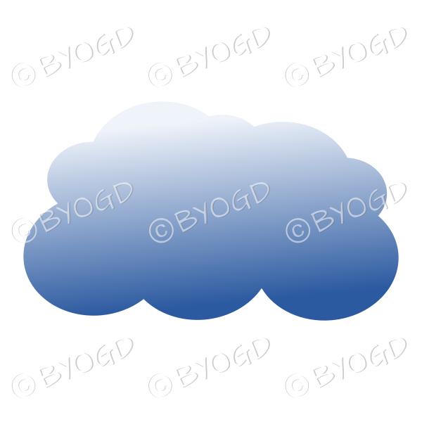 Dark storm cloud – style 2