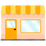 A lovely store front to your shop - Yellow and Orange