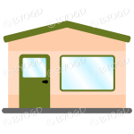 A simple green theme shop front for your store