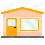 A simple orange theme shop front for your store
