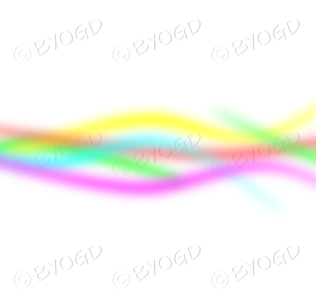 Rainbow multi-coloured lines for background