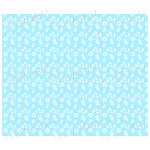 Light blue flowers and leaves background