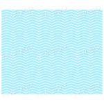 Very light blue zig zag background