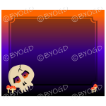 Halloween Background skull dark
