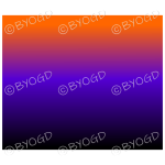 Halloween black purple orange graduated background