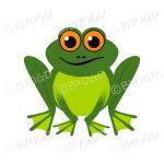 Halloween Green frog
