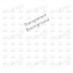 White mini envelope background on clear