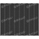 Black and white zig zag background