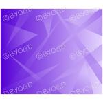 Purple graduated shards background.