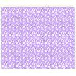 Purple flowers and leaves background.