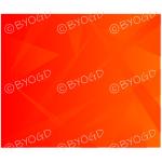 Red Orange graduated shards background.