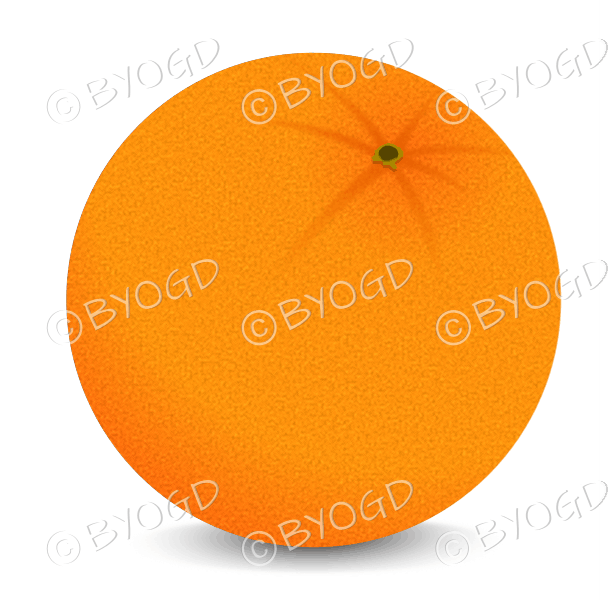 A juicy orange to add to your 5 a day!