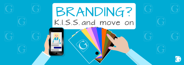 Branding K.I.S.S. and move on