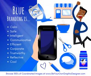 K.I.S.S. Colour Psychology Blue
