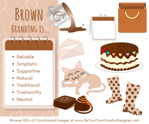 K.I.S.S. Colour Psychology Brown