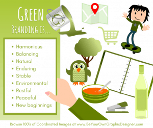 K.I.S.S. Colour Psychology Green