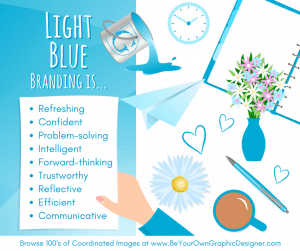 K.I.S.S. Colour Psychology Light Blue