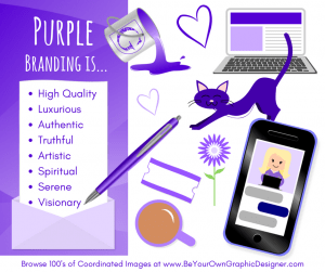 K.I.S.S. Colour Psychology Purple