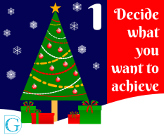 1. Decide what you want to achieve