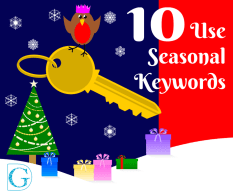 Use seasonal keywords
